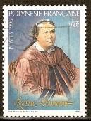 timbre: Hommage à la Reine Pomaré
