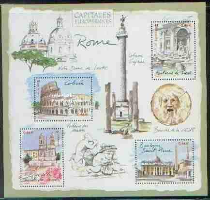 Timbre: Capitales européennes : rome