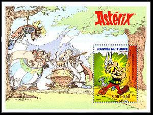 Timbre: Bloc-feuillet Asterix