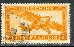 Timbre: Avion du service postal