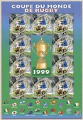 Timbre: Coupe du monde de Rugby 1999