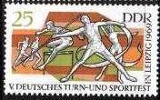 Timbre: 5eme fete sportive   athletisme