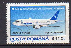 Timbre: Avion BOEING 737-300