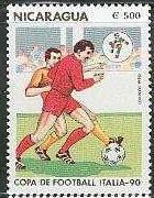 Timbre: Italia '90  Football