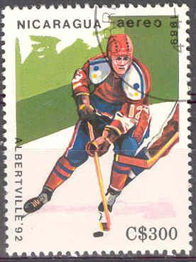 Timbre:  JO Alberville, hockey
