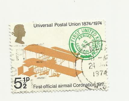 Timbre: Avion UpU