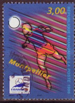 Timbre: Coupe du Monde de Football 98 (OR)