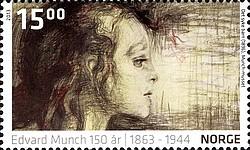 Timbre: Edvard Munch