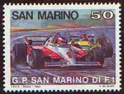 Timbre: F1 - Grand Prix de San Marino