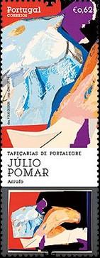 timbre: Tapisseries de Portalegre - Julio Pomar