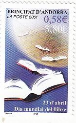 timbre: Journée du livre