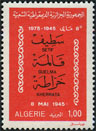 timbre: Répression de Sétif-Guelma-Kherrata, 8 mai 1945