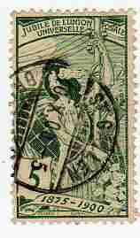 Timbre: Union Postale Universelle