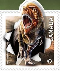 Timbre: Tyrannosaurus Adn - Voir note *1*