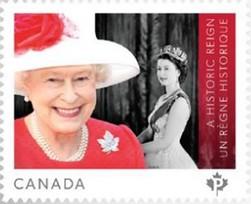 Timbre:  Reine Elizabeth II - voir note  *2*