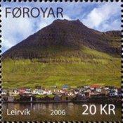 Timbre: Ile d'Eysturoy - Leirvik