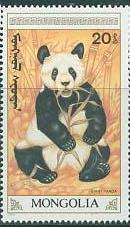 Timbre: Panda géant