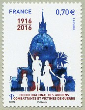 Timbre: Office national des anciens combattants