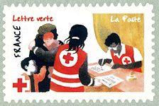 Timbre: La Croix-Rouge