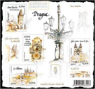 Timbre: Capitales européennes Prague