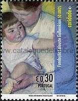 Timbre: Mère et enfant