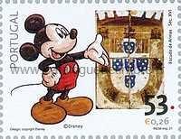 Timbre: Walt Disney - Mickey