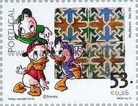 Timbre: Walt Disney - Riri, Fifi et Loulou