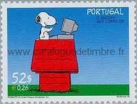 Timbre: Snoopy à la Poste