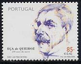 Timbre: José Maria Eça de Queieros, écrivain