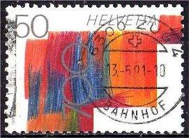 Timbre: 700 ans de la Confédération helvétique