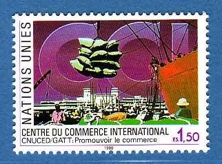Timbre: Le Centre de Commerce International