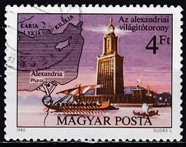 Timbre: La Phare d'Alexandrie