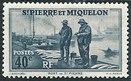 Timbre: Port de Saint-Pierre
