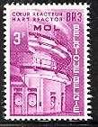 Timbre: Mol : Réacteur BR3