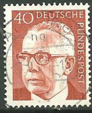 Timbre: Président Gustav Heinemann
