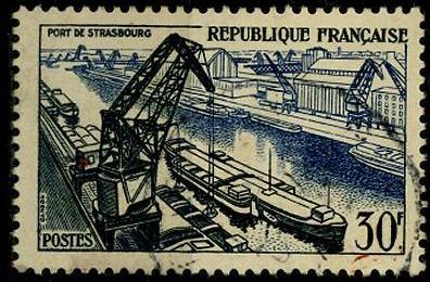 Timbre: Port de Strasbourg