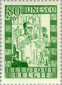Timbre: UNESCO : chimiste