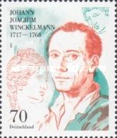 Timbre: Johan Joachim  Winckelmann