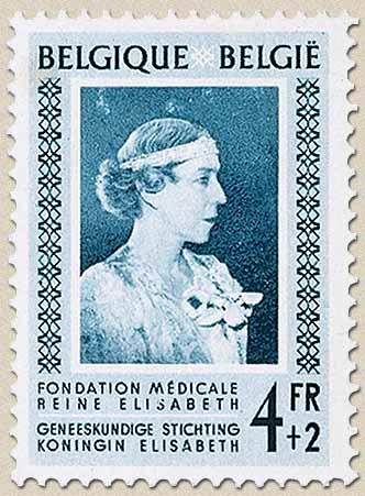 Timbre: Fondation médicale reine Elisabeth
