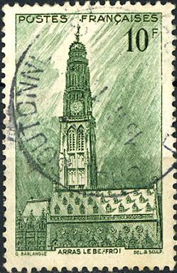 Timbre: Beffroi d'Arras