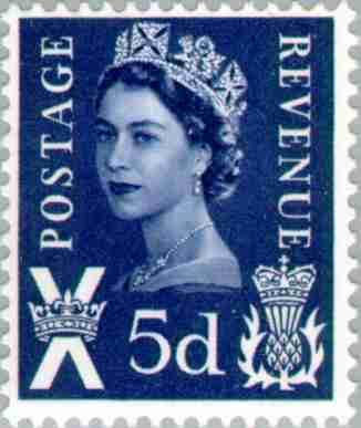 timbre: Reine Elisabeth - Ecosse