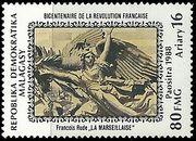 timbre: La Marseillaise, de Rude