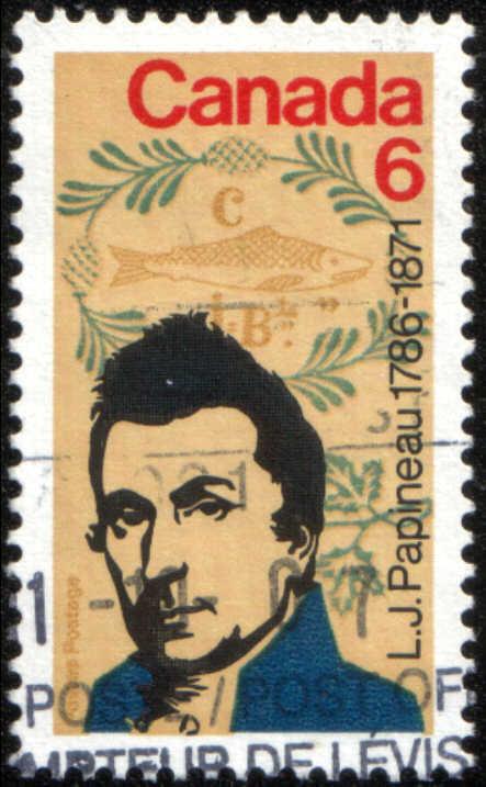 timbre: Louis-Joseph Papineau 1786-1871, homme politique