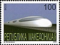 timbre: Train à grande vitesse