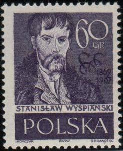 timbre: Stanislaw Wyspianski  ( 7ex )