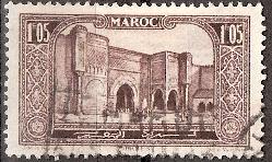 timbre: Porte Bab el Mansour