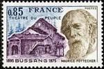 timbre: Théâtre du peuple de Bussang