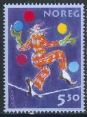 timbre: Europa - Le cirque