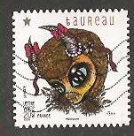 timbre: Signes du Zodiaque-Taureau