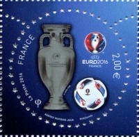 timbre: Championat d'Europe de foot-ball 2016